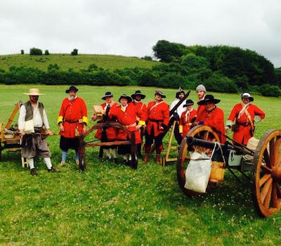 Wimborne Militia Group Photo