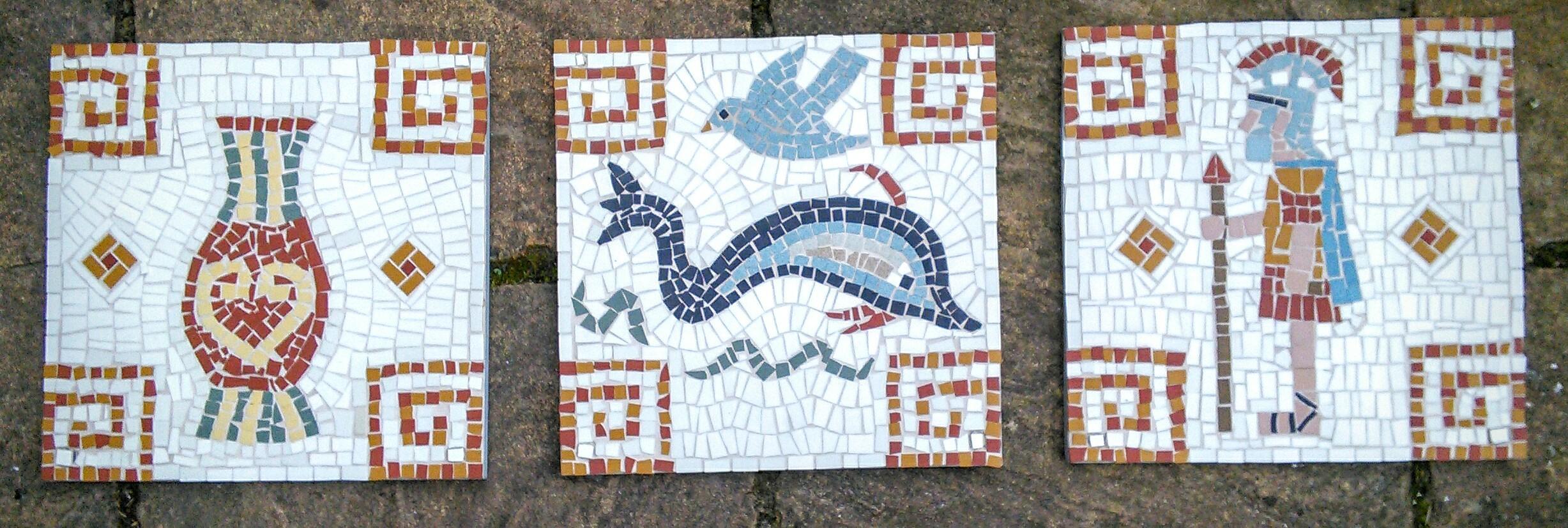 Pamphill Mosaic Tryptich